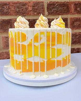 Marissa Bakes - Lemon Celebration Cake