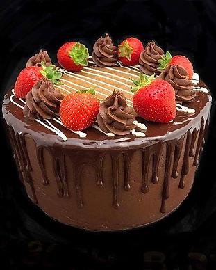Marissa Bakes - Chocolate Celebration Cake