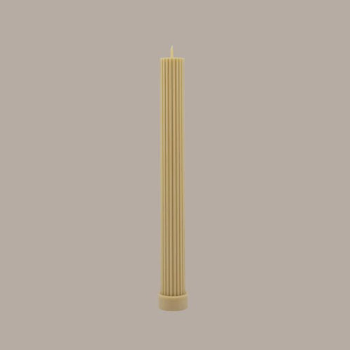 Column Pillar Candle - Honey