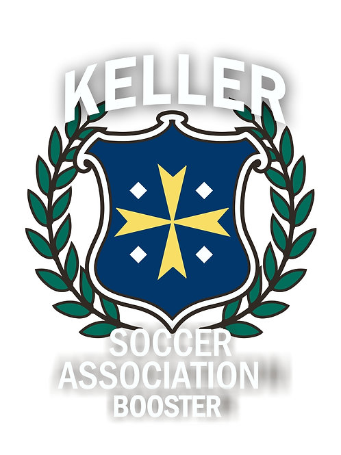 Keller Soccer Association Booster Window Decal