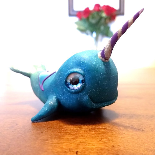 Cute Narwhal sculpture