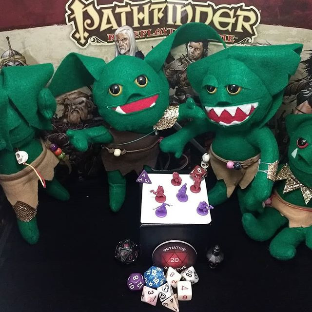 We be goblins!  Roll initiative!__#pathf