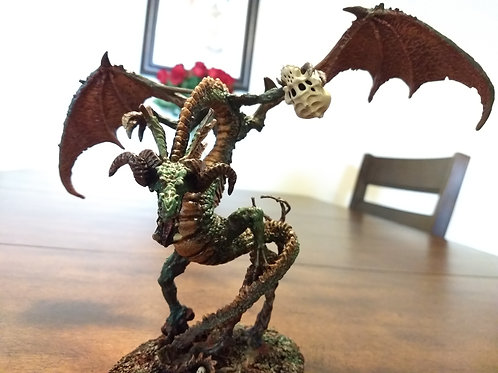 Swamp Dragon D&D miniature