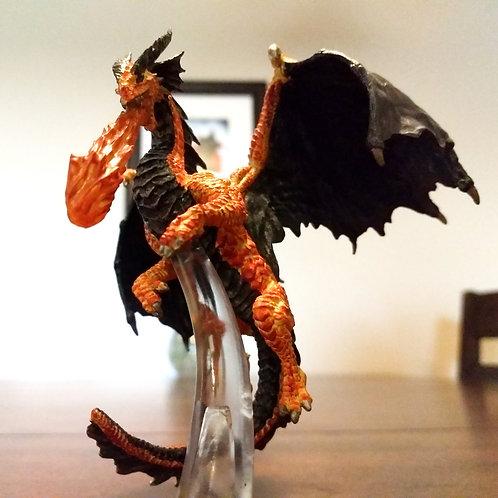 Fire Dragon D&D Miniature
