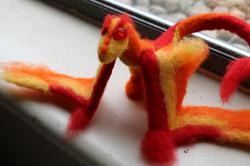 Needle-felt Dragon