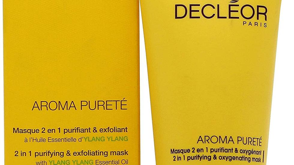 Ylang Ylang - Aroma pureté masque 2en 1 purifiant