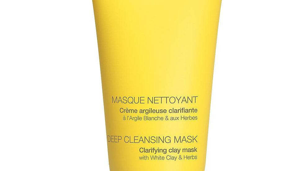 Masque nettoyant crème argileuse