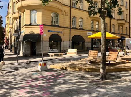 Stockholm et ses places de stationnement repensées pour ses citoyens