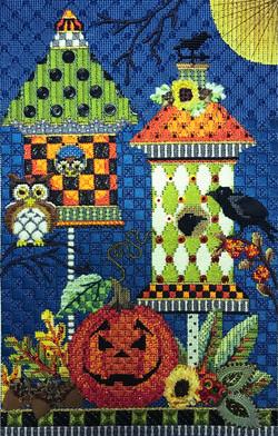 Halloween Birdhouses