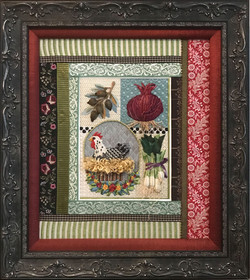 Framed Hen Sampler