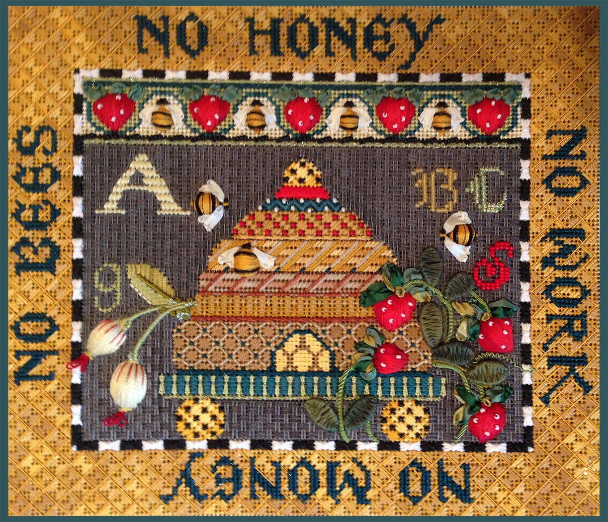 Bees Proverb Sampler