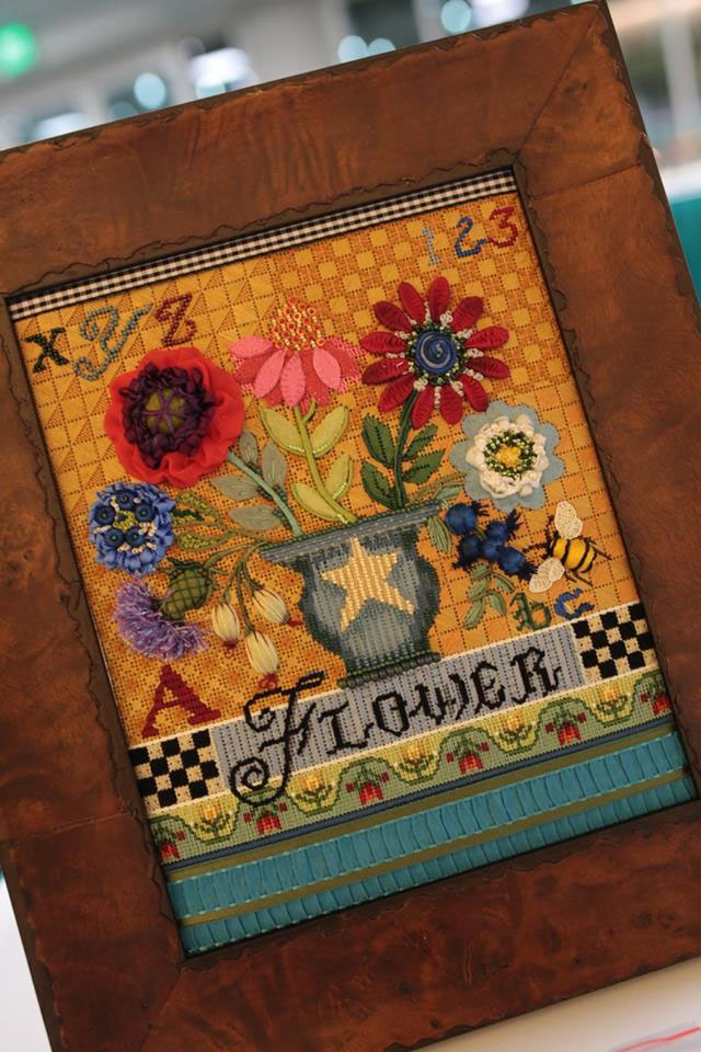 Folk Art Flower Sampler