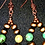 Thumbnail: JCK and Royston Turquoise Earrings