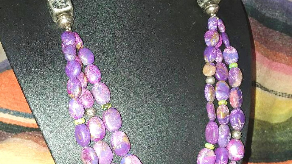 Mojave Necklace and Earring Set