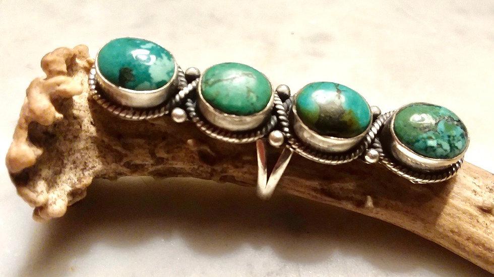Navajo Dead Pawn Ring