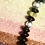 Thumbnail: Black Agate and Gaspeite Necklace/Earring Set