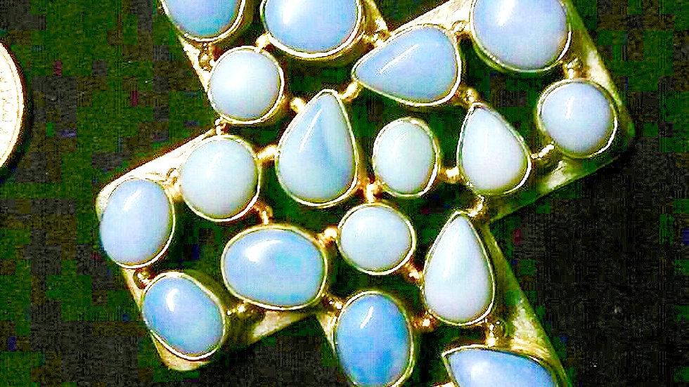 Lace Agate Pendant