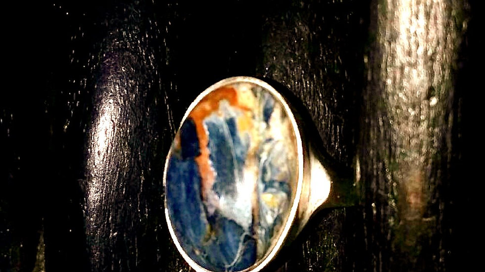 Russian Pietersite Ring