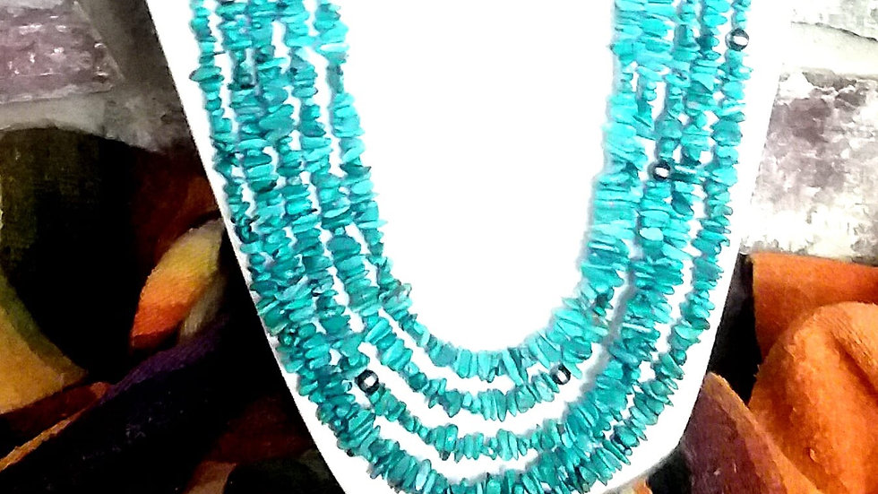 Nacozari 5 Strand Necklace