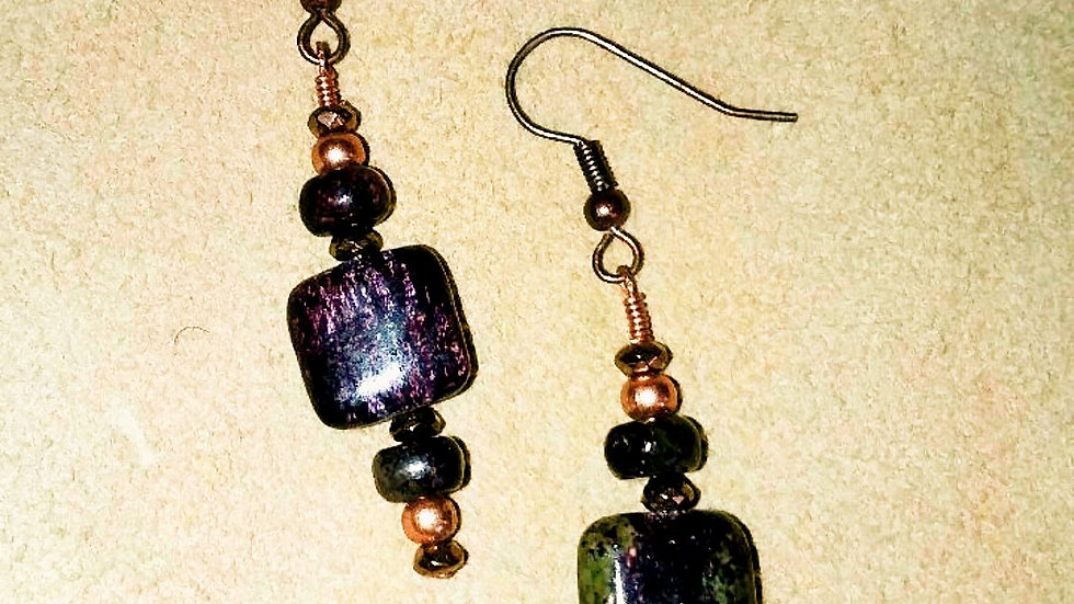 Pietersite Earrings
