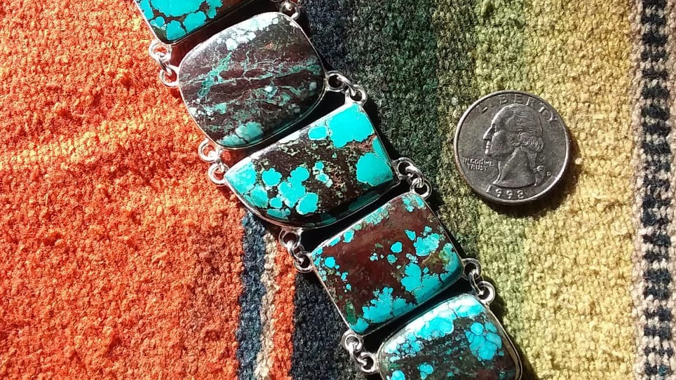 Persian Turquoise Bracelet