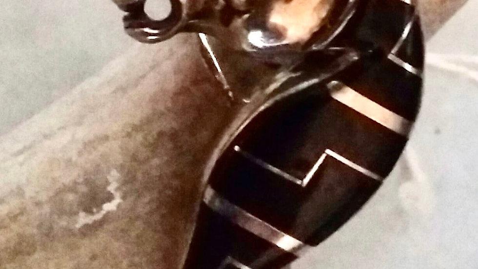 Onyx Horse Head Ring