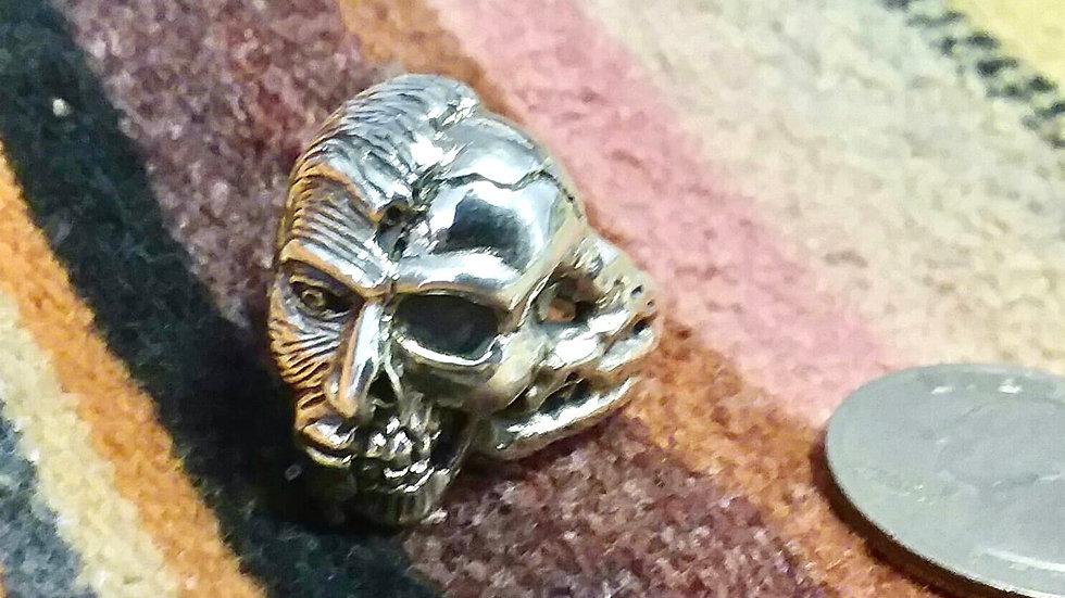 Skull-Face Ring