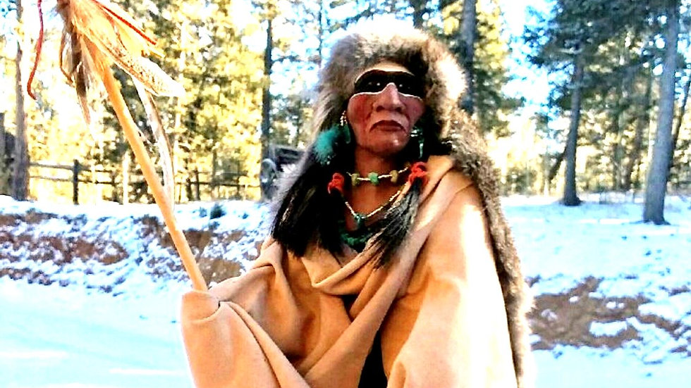 Majestic Native American Indian-SOLD