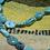 Thumbnail: Sleeping Beauty Turquoise and Pistol Pendant