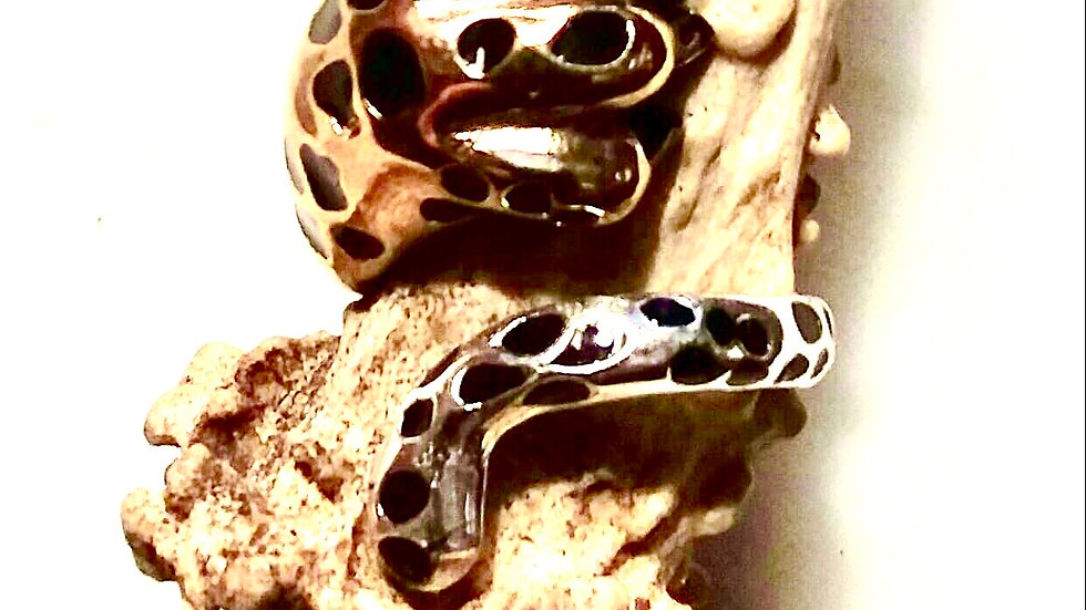 Leopard Paw and Tail Ring