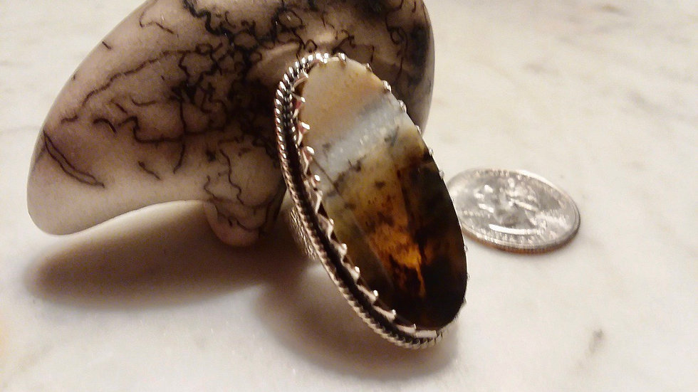 Montana Agate Ring