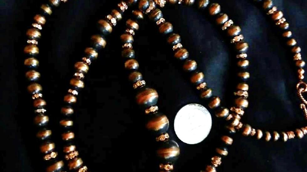 Single Strand JCK Copper Necklace