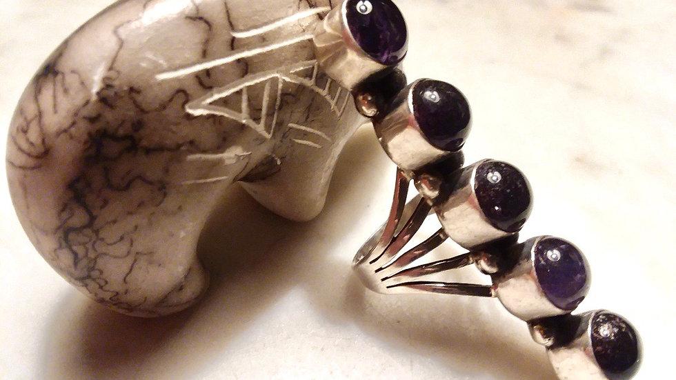 Dead Pawn Amethyst  Ring