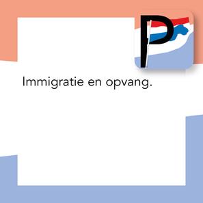 Immigratie en opvang.