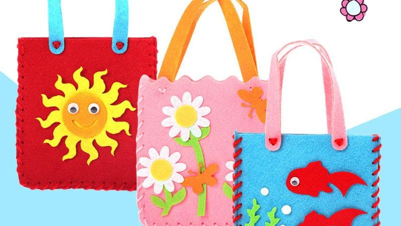 DIY  Fabric  Handbag Children