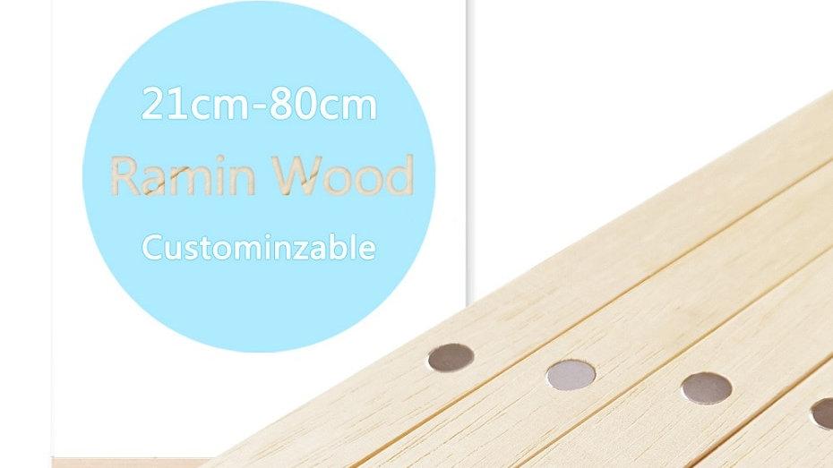 DIY Magnetic White Wood  Hanger