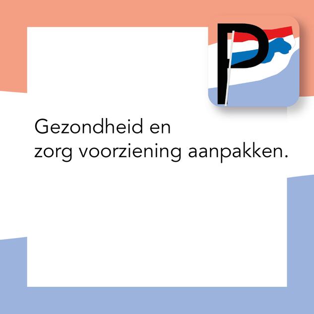 Gezondheid en Zorg Voorziening aanpakken.