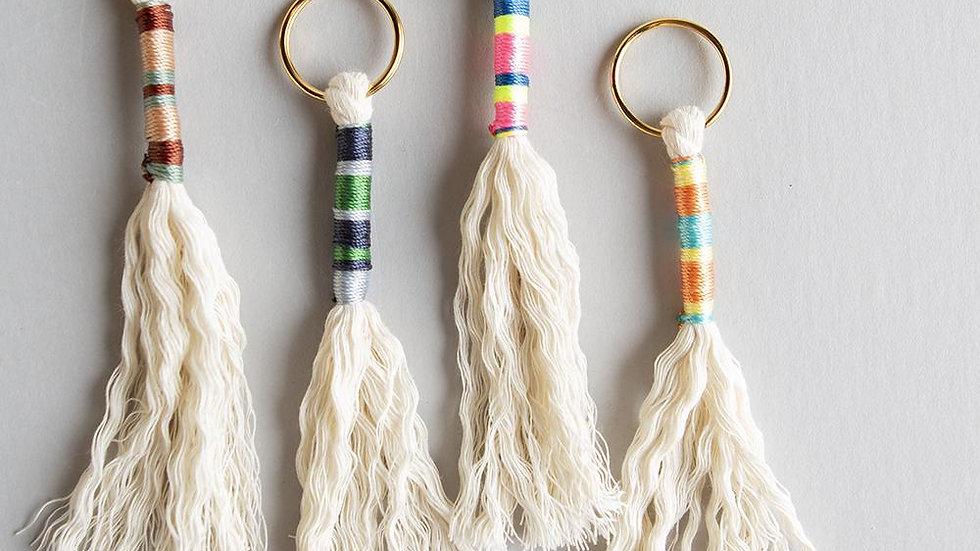 DIY Tassel Key Ring Kit