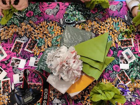 ACJ Juvisy - Création de fleurs décoratives en plastique 2020