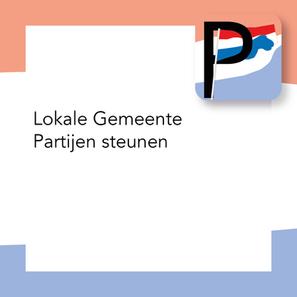 Lokale Gemeente Partijen steunen