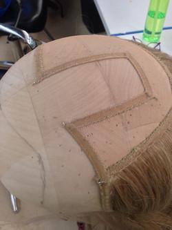 """Cut-Away"" Standard front wig"