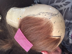 Fully Hand Tied wig