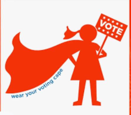 Registering voters is my superpower!