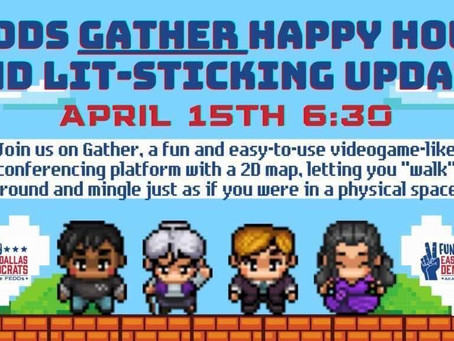 """FEDDs """"Gather"""" Virtually for a Happy Hour"""