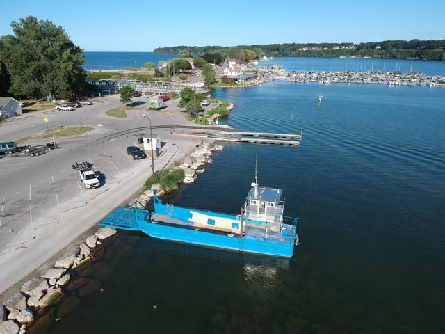 Irondequoit Bay boat launch