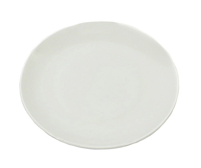 "8"" EXTRA FANCY & PREMIUM  DINNER PLATE,ITEM#00807212,白色骨瓷盤(6 PCS)"
