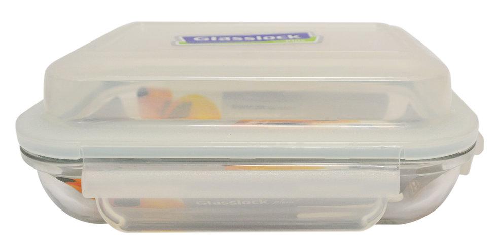 350ML GLASS LOCK/FOOD STORAGE CONTAINER, 2PCS, ITEM#  MPRB-035,便當盒2 個