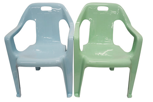 #805206 CHAHUA  CHILDREN ARM CHAIR-0813  塑膠扶手童座椅