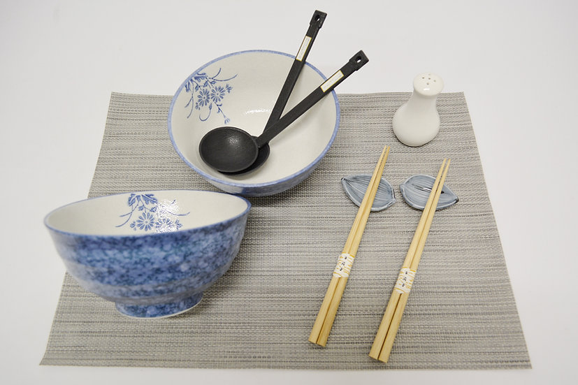 9-PIECES JAPANESE BOWLS COLLECTION,  ITEM# A036-9, 日本瓷碗套裝組合