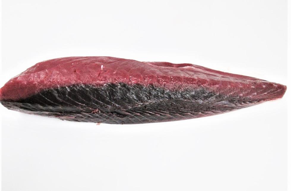 Yellowfin Tuna Skin on Bloodline on